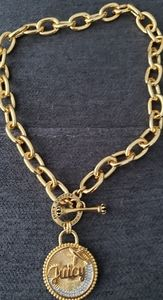 Juicy Couture Gold-Tone Necklace